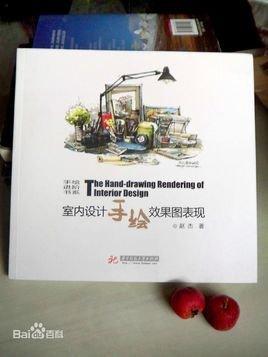 厨房空间组合手绘表现 第四章 手绘效果图表现步骤 第一节 客厅手绘效