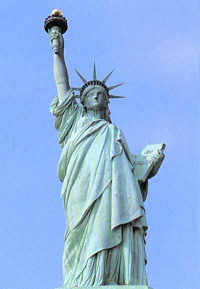 (图)美国自由女神像