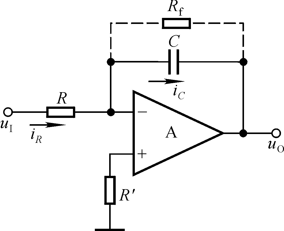 积分运算电路在不同输入情况下的波形
