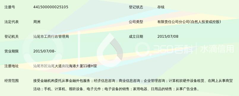 深圳前海达飞金融服务有限公司汕尾分公司_3