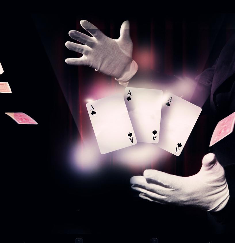 魔术领花系法图解