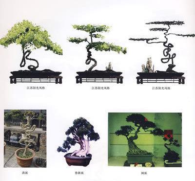 川派盆景艺术的发展,经历了一个在造型上从简到繁,再从繁到简的过程