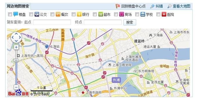上海静安区地图