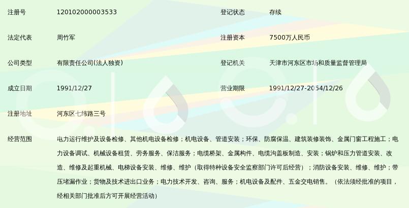 天津蓝巢电力检修有限公司_360百科