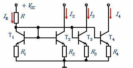 多路电流源电路