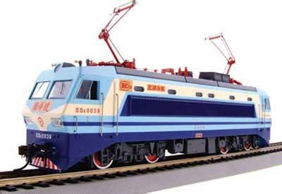 模型火车就会如同真实火车一样运动
