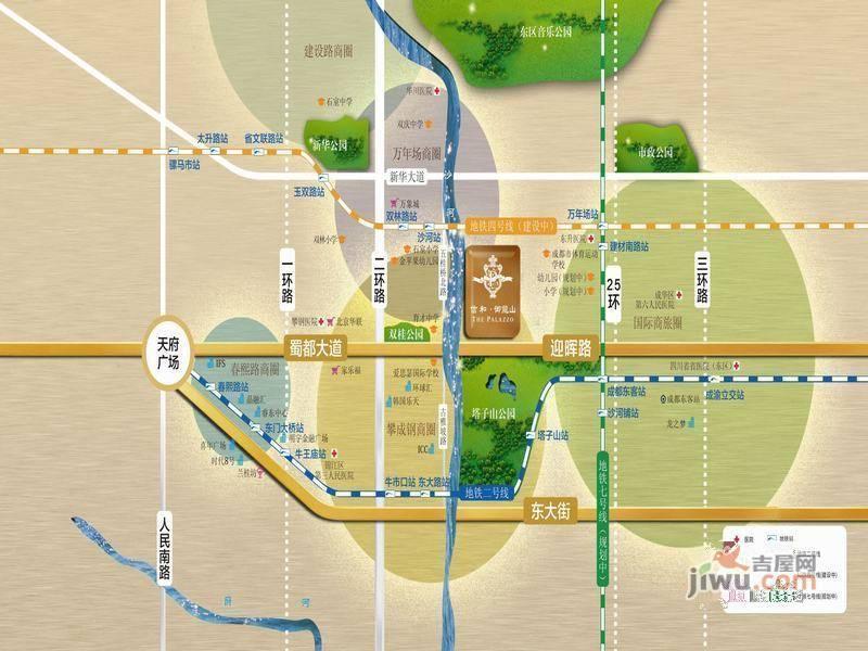 信园社区地图
