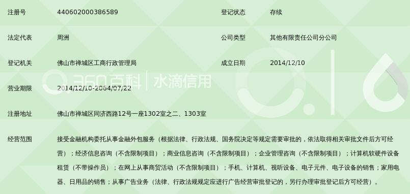 深圳前海达飞金融服务有限公司佛山分公司_3