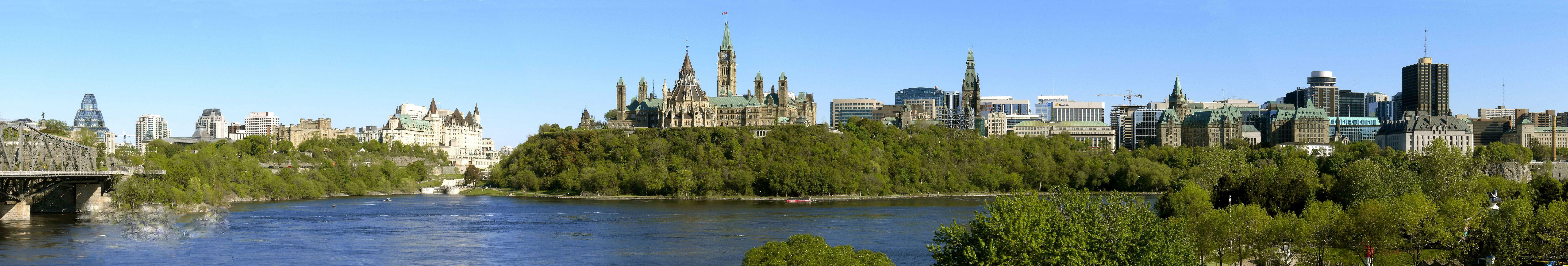 渥太华(ottawa)是加拿大首都和政治文化中心,安大略省第二大城市