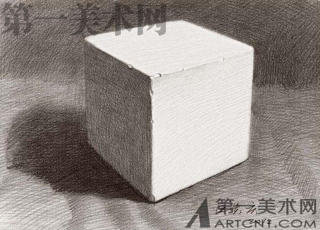 石膏几何体组合: 构图适当