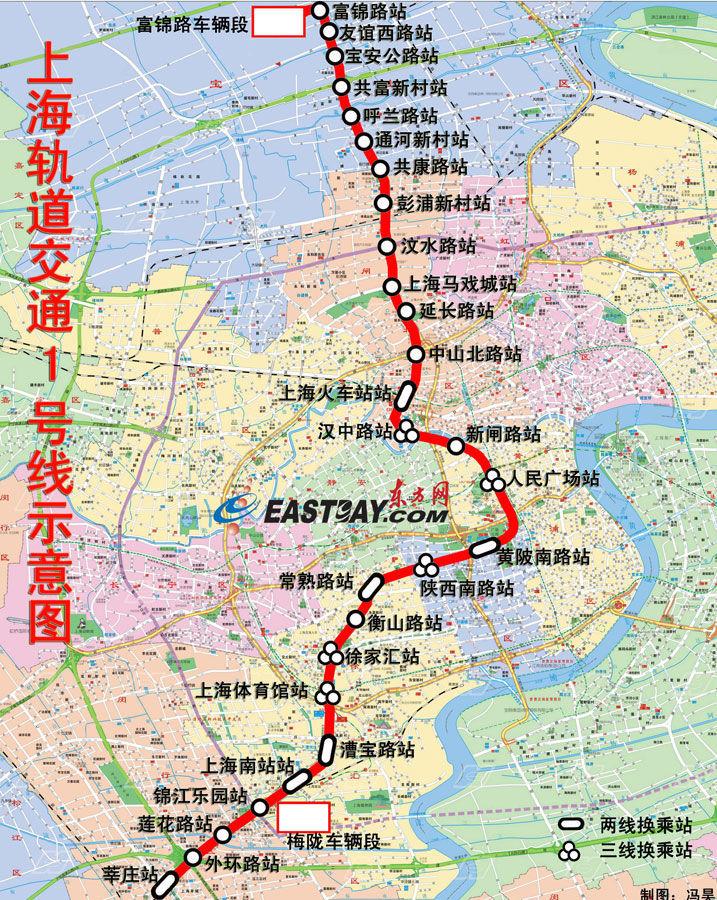 上海地�_上海地铁1号线