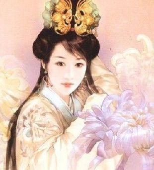 古代美女手绘皇后